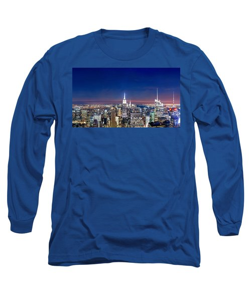Wealth And Power Long Sleeve T-Shirt by Az Jackson