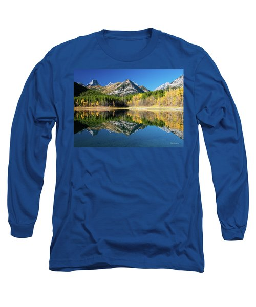 Wedge Pond Color Long Sleeve T-Shirt