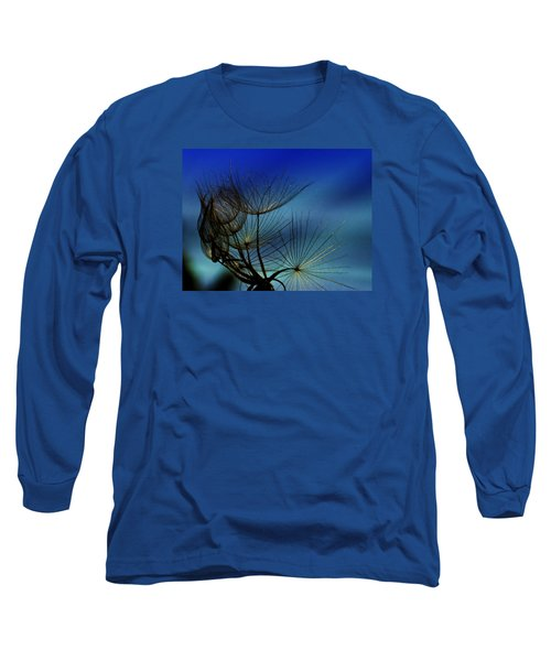 Long Sleeve T-Shirt featuring the photograph Weeds Can Be Beautiful.... by Judy  Johnson