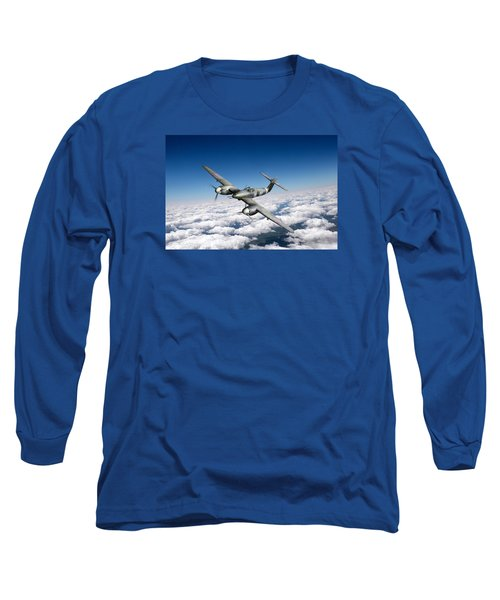 Westland Whirlwind Portrait Long Sleeve T-Shirt by Gary Eason