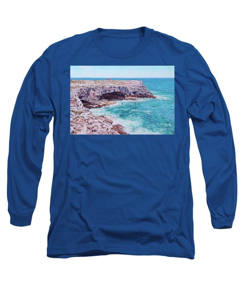 Whale Point Cliffs Long Sleeve T-Shirt