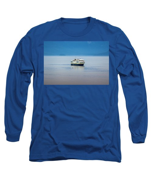 Whale Watching In Glacier Bay Long Sleeve T-Shirt