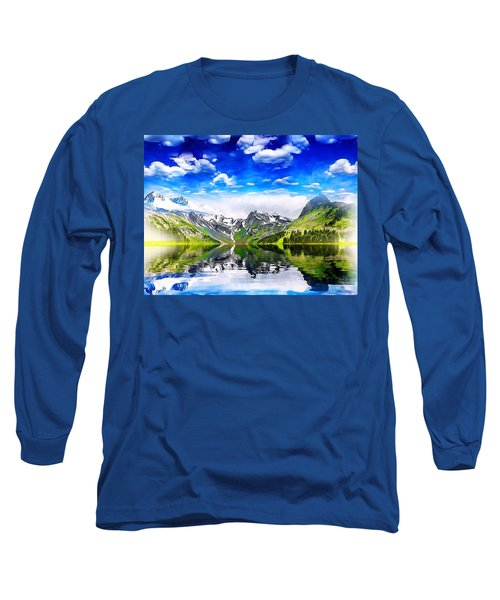 What A Beautiful Day Long Sleeve T-Shirt by Gabriella Weninger - David