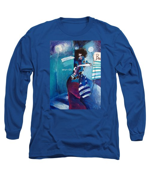What Time Is It Long Sleeve T-Shirt by Maya Manolova