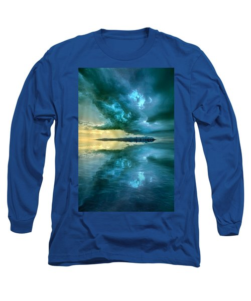 Long Sleeve T-Shirt featuring the photograph Where The Clock Stops Spinning by Phil Koch