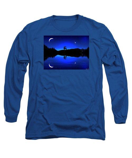 Long Sleeve T-Shirt featuring the digital art Wherever I May Roam by Bernd Hau