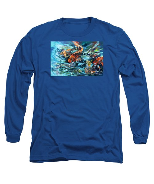 Whirling Dervish Long Sleeve T-Shirt by Rae Andrews