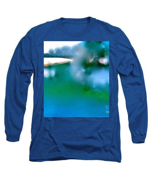 White Ice Long Sleeve T-Shirt by Patricia Schneider Mitchell