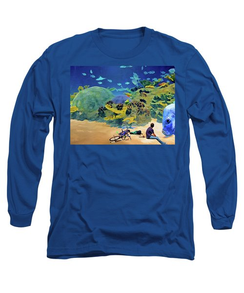 Who's Fishing? Long Sleeve T-Shirt