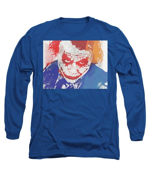 Why So Serious Long Sleeve T-Shirt by Dan Sproul