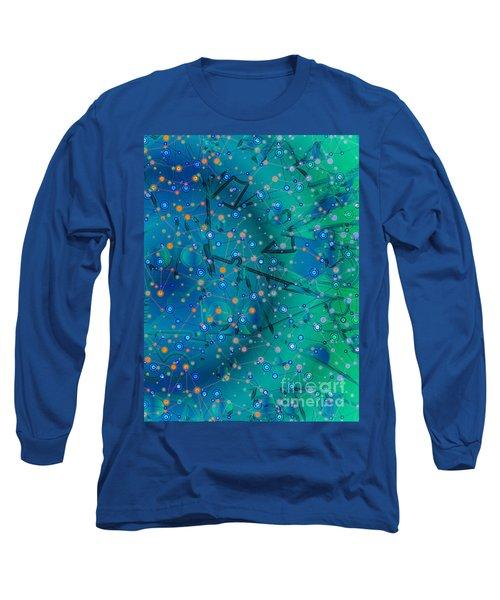 The Wild Blueberry Long Sleeve T-Shirt by Moustafa Al Hatter