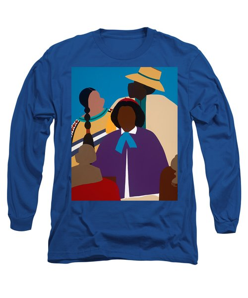 Wildfire A Tribute To Edmonia Lewis Long Sleeve T-Shirt