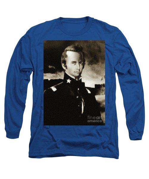 William B Travis - The Alamo Long Sleeve T-Shirt