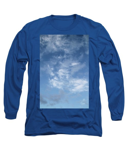 Window On The Sky In Israel During The Winter Long Sleeve T-Shirt by Yoel Koskas