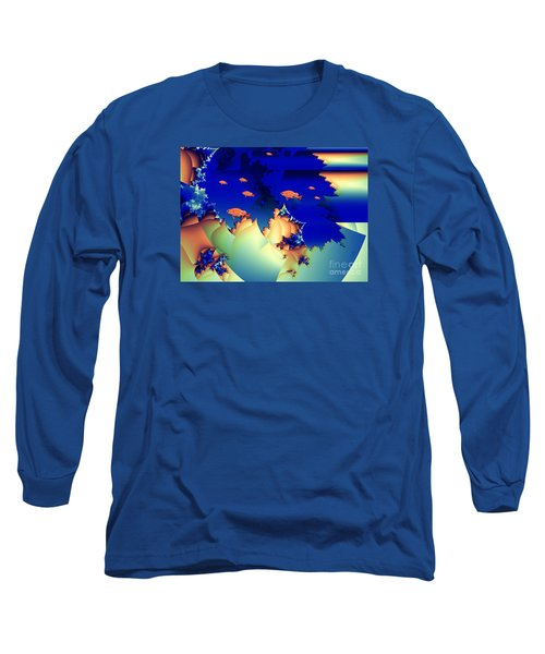 Window On The Undersea Long Sleeve T-Shirt by Ron Bissett