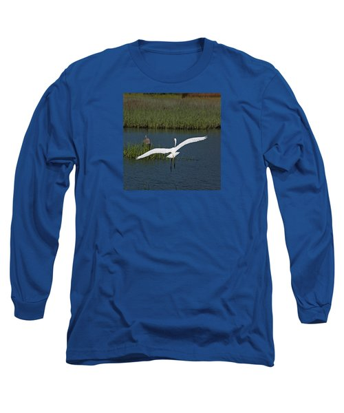 Wingspan Long Sleeve T-Shirt by Suzanne Gaff