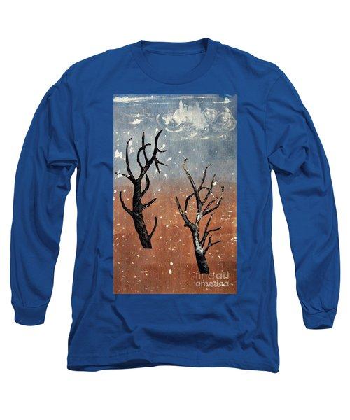 Winter Day Long Sleeve T-Shirt by Sarah Loft