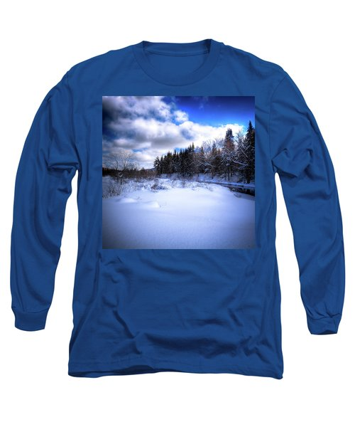 Long Sleeve T-Shirt featuring the photograph Winter Highlights by David Patterson