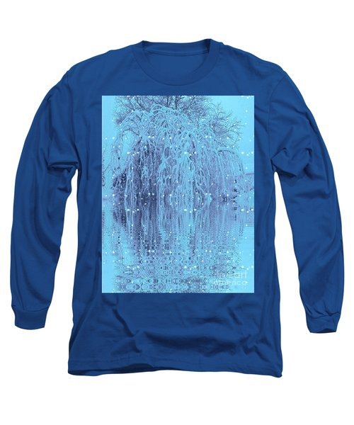 Winter Is Pretty Long Sleeve T-Shirt by Holly Martinson