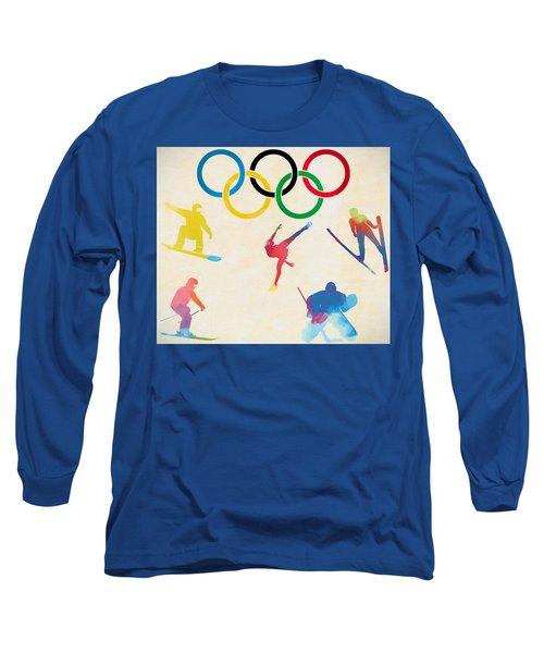Winter Olympics Games Long Sleeve T-Shirt