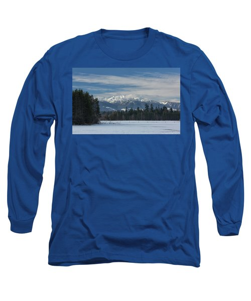 Long Sleeve T-Shirt featuring the photograph Winter by Randy Hall