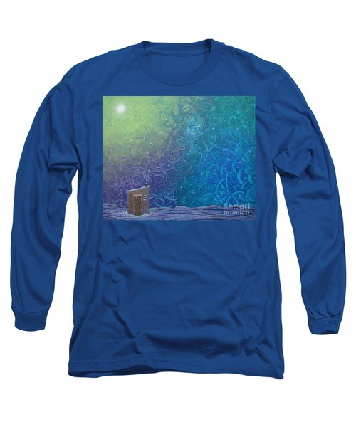 Winter Solitude 2 Long Sleeve T-Shirt by Jacqueline Athmann