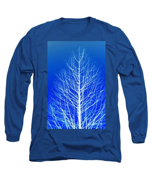 Winter Tree Long Sleeve T-Shirt by Donna Bentley
