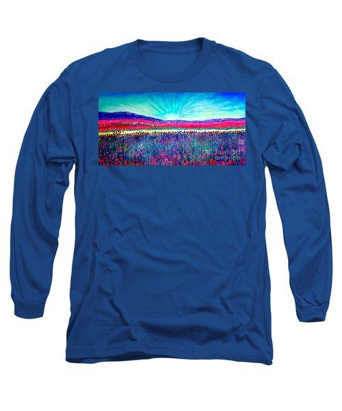 Wishing You The Sunshine Of Tomorrow Long Sleeve T-Shirt by Kimberlee Baxter