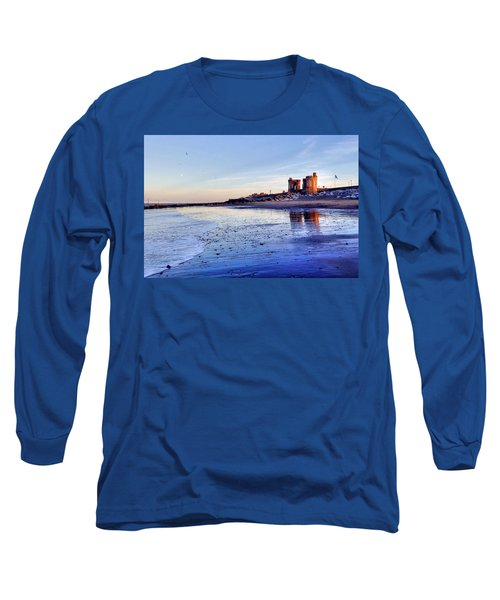 Withernsea Sunset And Moon Long Sleeve T-Shirt