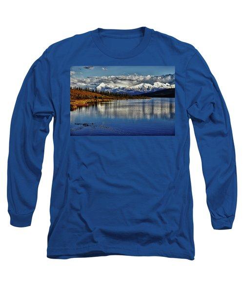 Wonder Lake IIi Long Sleeve T-Shirt by Rick Berk