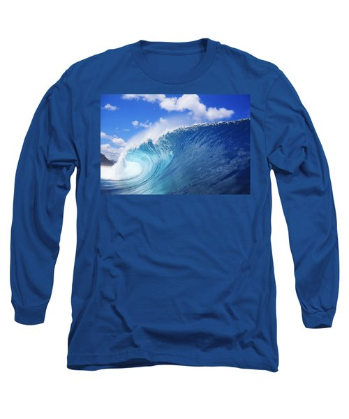 World Famous Pipeline Long Sleeve T-Shirt by Vince Cavataio - Printscapes