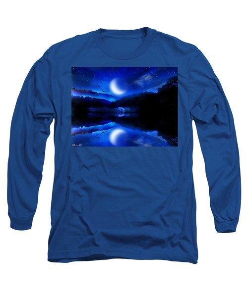 Written In The Stars Long Sleeve T-Shirt by Bernd Hau