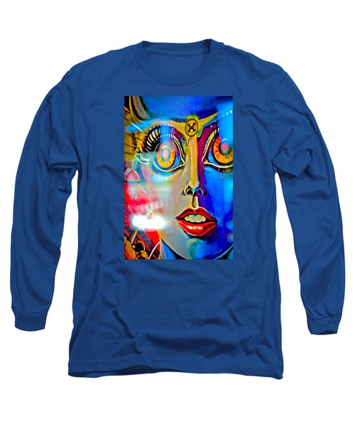 X Is For Xenon - Pinball Long Sleeve T-Shirt by Colleen Kammerer