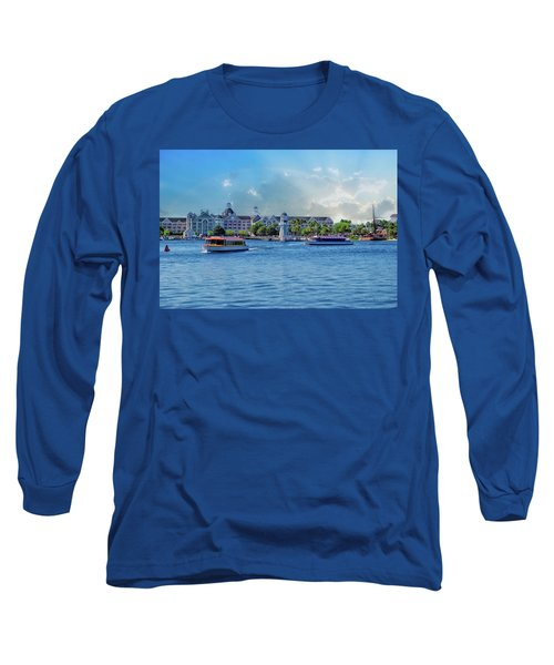 Yacht And Beach Club Walt Disney World Long Sleeve T-Shirt