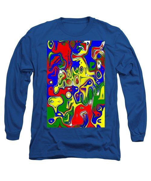 Long Sleeve T-Shirt featuring the digital art Yage by Maciek Froncisz