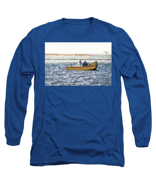 Yellow Boat - Long Sleeve T-Shirt