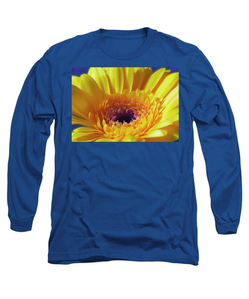 Yellow Joy And Inspiration Long Sleeve T-Shirt