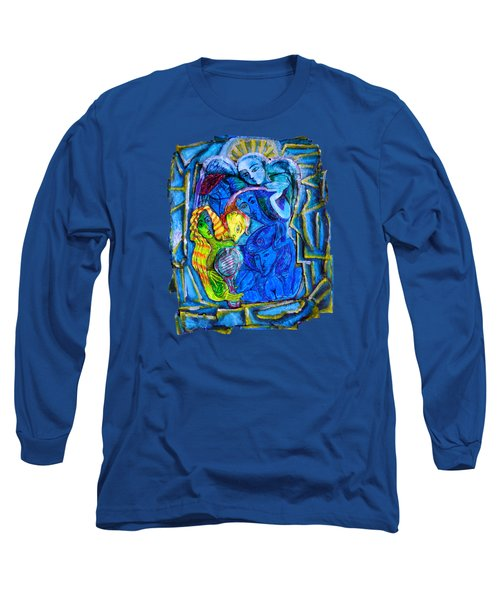 Yeti And The Mermaid Series I Don't You See? Long Sleeve T-Shirt by Joanna Whitney
