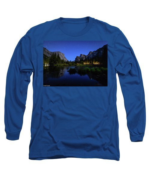 Yosemite Nights Long Sleeve T-Shirt