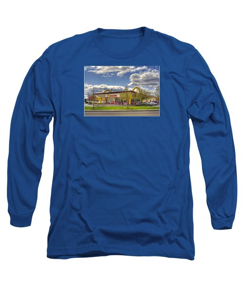 You Deserve A Break Today Long Sleeve T-Shirt by Chris Anderson