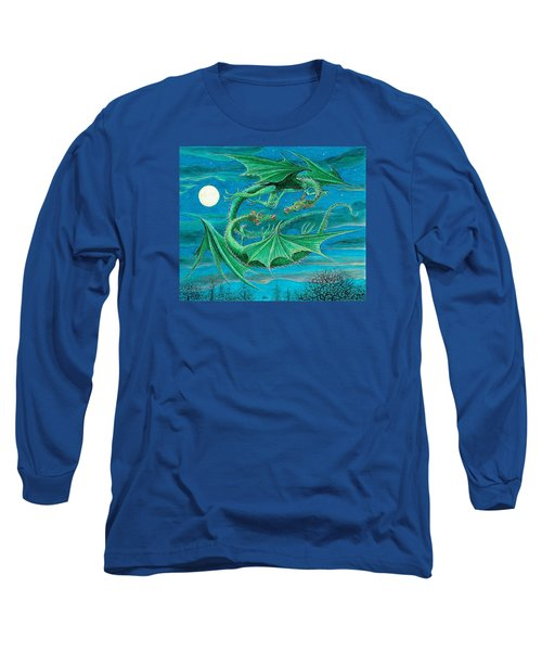 Young Dragons Frisk Long Sleeve T-Shirt by Charles Cater