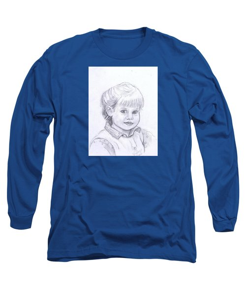 Young Girl Long Sleeve T-Shirt