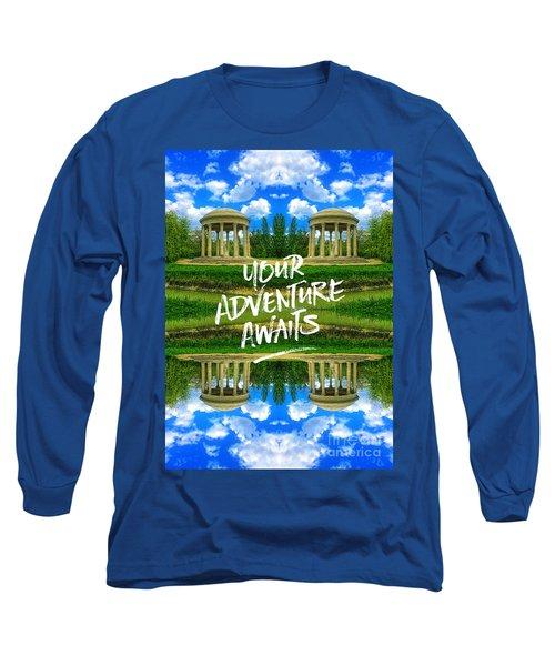 Your Adventure Awaits Temple Of Love Versailles Paris Long Sleeve T-Shirt