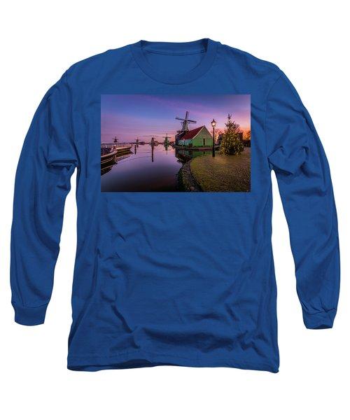 Zaanse Schans Holiday  Long Sleeve T-Shirt