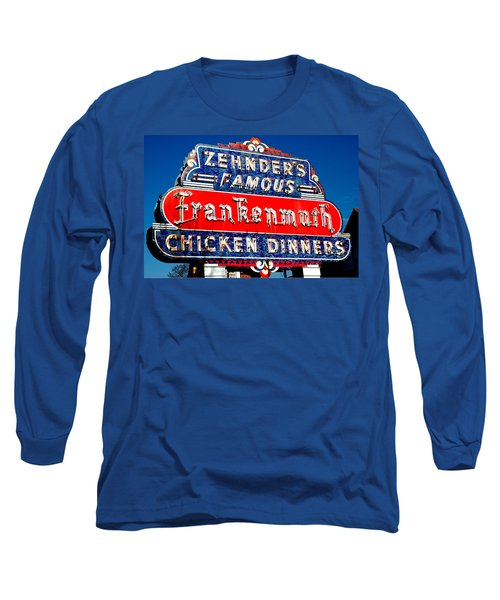 Zehnder's Frankenmuth Michigan Long Sleeve T-Shirt