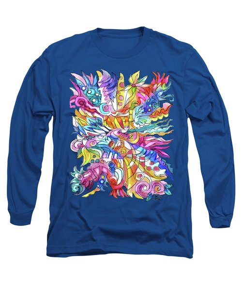 Zentangle-off The Cuff Long Sleeve T-Shirt