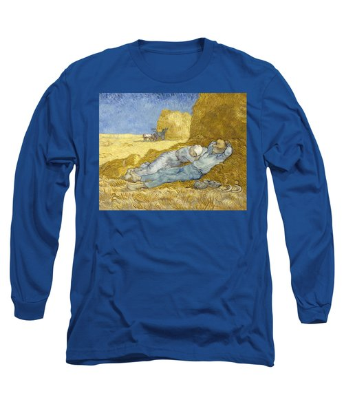 Noon - Rest From Work Long Sleeve T-Shirt