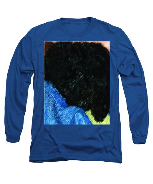 122718 Secure In Daddys Arms Long Sleeve T-Shirt