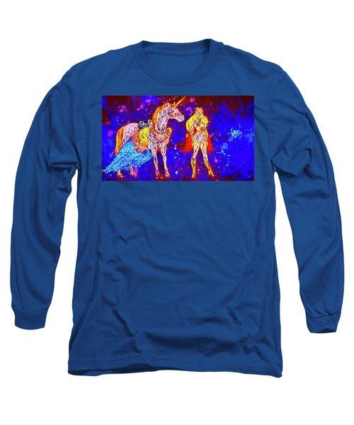 She - Ra And Swift Wind Long Sleeve T-Shirt