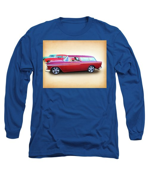 3 - 1955 Chevy's Long Sleeve T-Shirt